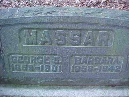 MASSAR, BARBARA - Meigs County, Ohio | BARBARA MASSAR - Ohio Gravestone Photos