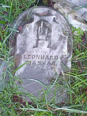 MASSAR, LEONHARD - Meigs County, Ohio | LEONHARD MASSAR - Ohio Gravestone Photos