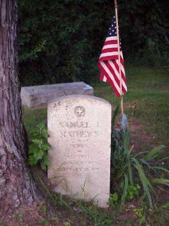 MATHEWS, SAMUEL J. - Meigs County, Ohio | SAMUEL J. MATHEWS - Ohio Gravestone Photos