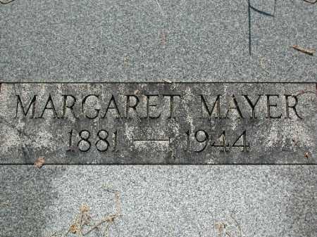 MAYER, MARGARET - Meigs County, Ohio   MARGARET MAYER - Ohio Gravestone Photos