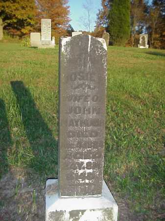 MAYHUGH, JOSIE - Meigs County, Ohio | JOSIE MAYHUGH - Ohio Gravestone Photos