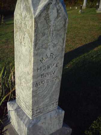 MAYHUGH, MARY - Meigs County, Ohio | MARY MAYHUGH - Ohio Gravestone Photos