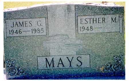 MAYS, JAMES G. - Meigs County, Ohio | JAMES G. MAYS - Ohio Gravestone Photos