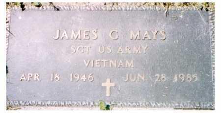 MAYS, JAMES G. - Meigs County, Ohio   JAMES G. MAYS - Ohio Gravestone Photos
