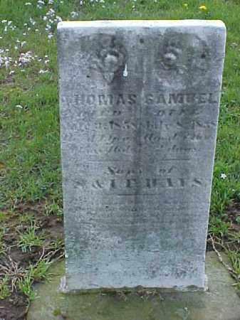 MAYS, THOMAS - Meigs County, Ohio   THOMAS MAYS - Ohio Gravestone Photos