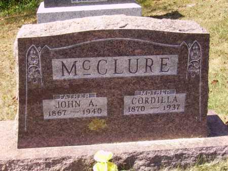 MC CLURE, CORDILLA - Meigs County, Ohio | CORDILLA MC CLURE - Ohio Gravestone Photos