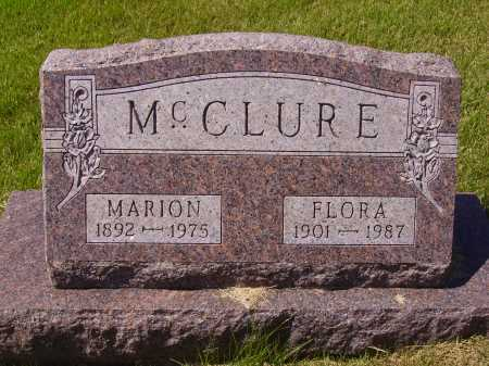 MC CLURE, MARION - Meigs County, Ohio | MARION MC CLURE - Ohio Gravestone Photos
