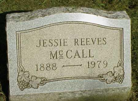 REEVES MCCALL, JESSIE - Meigs County, Ohio | JESSIE REEVES MCCALL - Ohio Gravestone Photos