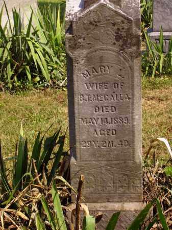 MILLER MCCALLA, MARY L. - Meigs County, Ohio | MARY L. MILLER MCCALLA - Ohio Gravestone Photos