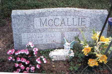 MCCALLIE, DAVID MAX - Meigs County, Ohio | DAVID MAX MCCALLIE - Ohio Gravestone Photos