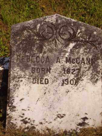 MCCANN, REBECCA ANN - Meigs County, Ohio | REBECCA ANN MCCANN - Ohio Gravestone Photos