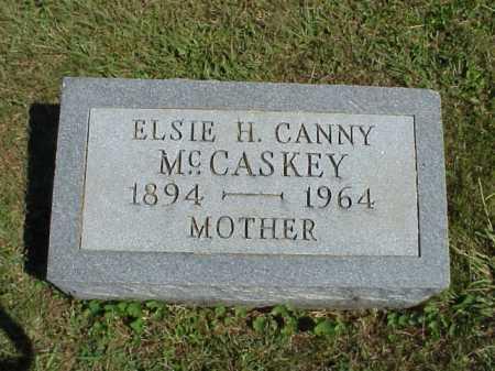 MCCASKEY, ELSIE H. CANNY - Meigs County, Ohio | ELSIE H. CANNY MCCASKEY - Ohio Gravestone Photos