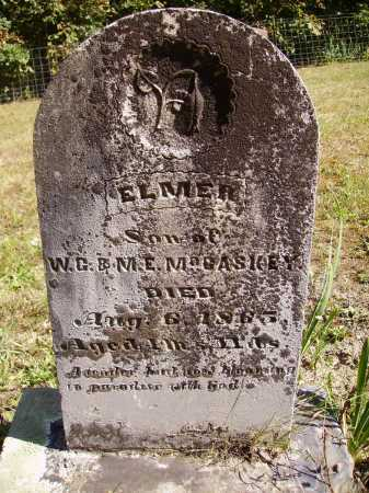 MCCASKEY, ELMER - Meigs County, Ohio | ELMER MCCASKEY - Ohio Gravestone Photos