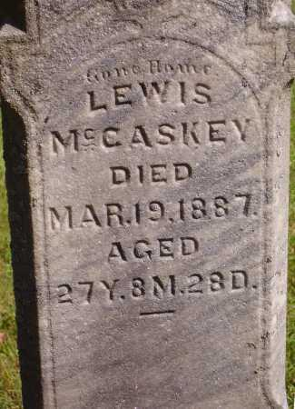 MCCASKEY, LEWIS - CLOSEVIEW - Meigs County, Ohio | LEWIS - CLOSEVIEW MCCASKEY - Ohio Gravestone Photos