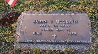 MCCLAIN, JOHN F. - Meigs County, Ohio   JOHN F. MCCLAIN - Ohio Gravestone Photos