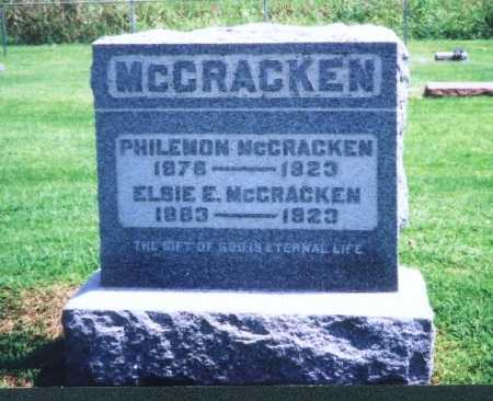 MCCRACKEN, ELSIE E. - Meigs County, Ohio | ELSIE E. MCCRACKEN - Ohio Gravestone Photos
