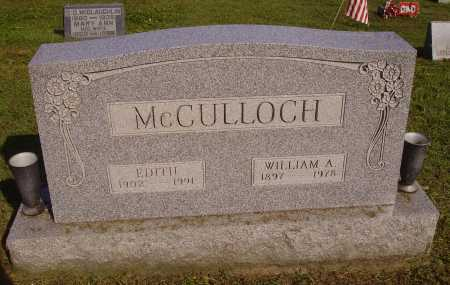 MCCULLOCH, EDITH - Meigs County, Ohio | EDITH MCCULLOCH - Ohio Gravestone Photos