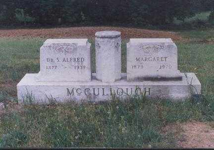 MCCULLOUGH, S. ALFRED, DR. - Meigs County, Ohio | S. ALFRED, DR. MCCULLOUGH - Ohio Gravestone Photos