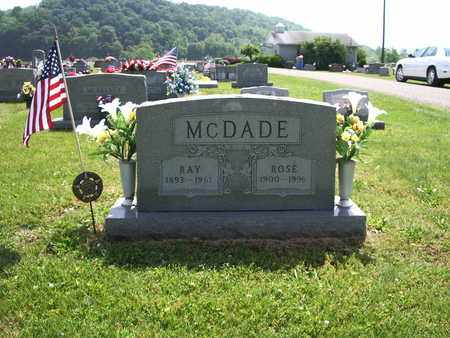 HOWARD ROSE, MCDADE - Meigs County, Ohio | MCDADE HOWARD ROSE - Ohio Gravestone Photos