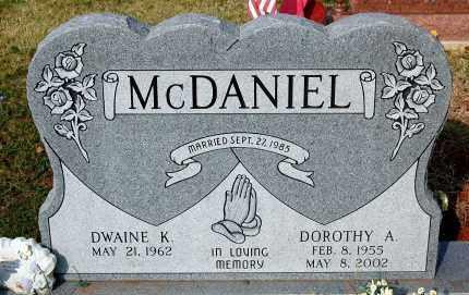 MCDANIEL, DOROTHY A. - Meigs County, Ohio | DOROTHY A. MCDANIEL - Ohio Gravestone Photos