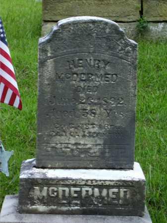 MCDERMED, HENRY - Meigs County, Ohio | HENRY MCDERMED - Ohio Gravestone Photos
