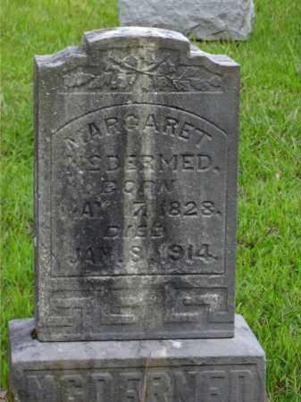 MCDERMED, MARGARET - Meigs County, Ohio | MARGARET MCDERMED - Ohio Gravestone Photos