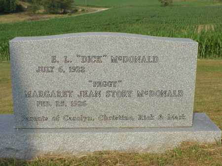 "MCDONALD, E. L. ""DICK"" - Meigs County, Ohio 