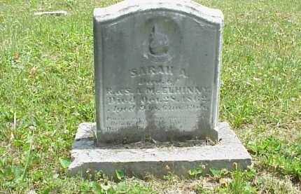 MCELHINNY, SARAH A. - Meigs County, Ohio | SARAH A. MCELHINNY - Ohio Gravestone Photos
