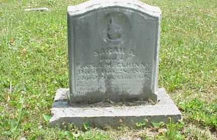 MCELHINNY, SARAH A. - Meigs County, Ohio | SARAH A. MCELHINNY - Ohio Gravestone Photos