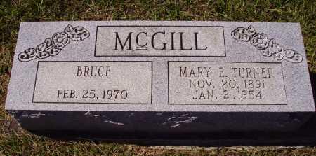 TURNER MCGILL, {MARIE} MARY E. - Meigs County, Ohio   {MARIE} MARY E. TURNER MCGILL - Ohio Gravestone Photos