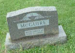 MCGUIRE, MARGARET M. - Meigs County, Ohio   MARGARET M. MCGUIRE - Ohio Gravestone Photos