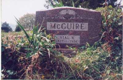 MCGUIRE, NIAL W. - Meigs County, Ohio   NIAL W. MCGUIRE - Ohio Gravestone Photos