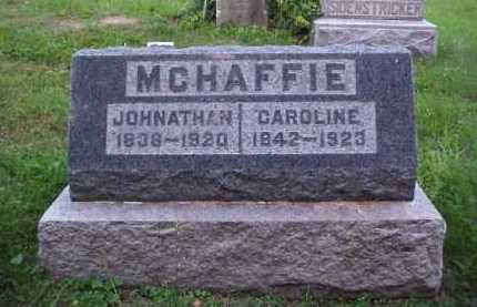 MCHAFFIE, JOHNATHAN - Meigs County, Ohio   JOHNATHAN MCHAFFIE - Ohio Gravestone Photos