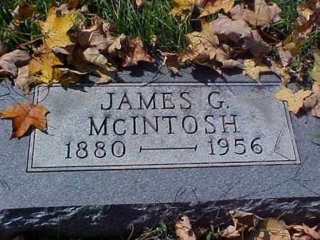 MCINTOSH, JAMES G. - Meigs County, Ohio | JAMES G. MCINTOSH - Ohio Gravestone Photos