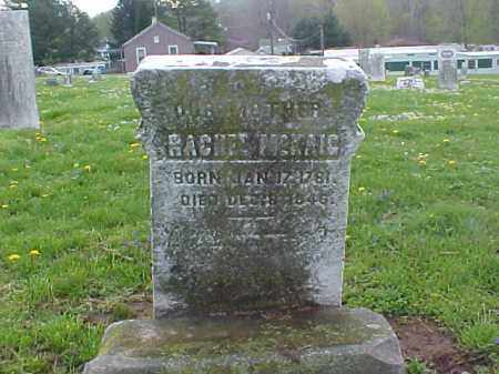 MCKAIG, RACHEL - Meigs County, Ohio | RACHEL MCKAIG - Ohio Gravestone Photos
