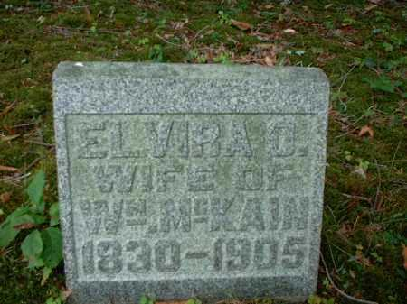 MCKAIN, ELVIRA O. - Meigs County, Ohio | ELVIRA O. MCKAIN - Ohio Gravestone Photos