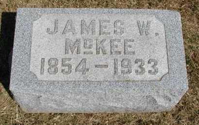 MCKEE, JAMES W. - Meigs County, Ohio | JAMES W. MCKEE - Ohio Gravestone Photos
