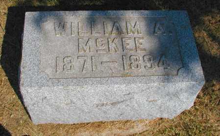 MCKEE, WILLIAM A. - Meigs County, Ohio | WILLIAM A. MCKEE - Ohio Gravestone Photos