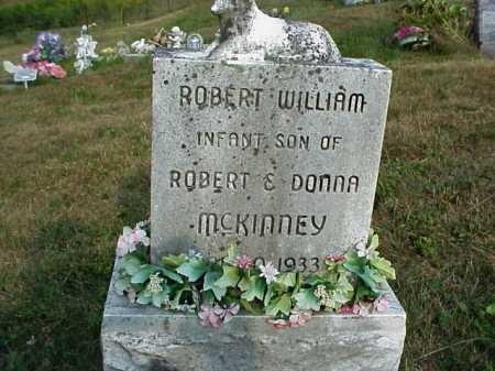 MCKINNEY, ROBERT WILLIAM - Meigs County, Ohio   ROBERT WILLIAM MCKINNEY - Ohio Gravestone Photos