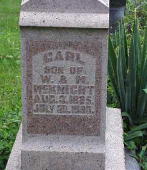MCKNIGHT, CARL - Meigs County, Ohio | CARL MCKNIGHT - Ohio Gravestone Photos