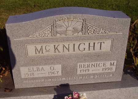 MCKNIGHT, BERNICE M. - Meigs County, Ohio | BERNICE M. MCKNIGHT - Ohio Gravestone Photos
