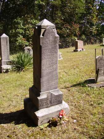 MCKNIGHT, ELIZABETH - OVERALL VIEW - Meigs County, Ohio   ELIZABETH - OVERALL VIEW MCKNIGHT - Ohio Gravestone Photos