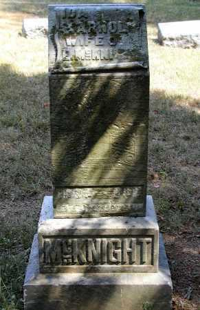 ARNOLD MCKNIGHT, IDA - Meigs County, Ohio | IDA ARNOLD MCKNIGHT - Ohio Gravestone Photos
