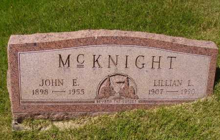 MCKNIGHT, JOHN E. - Meigs County, Ohio | JOHN E. MCKNIGHT - Ohio Gravestone Photos