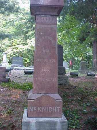 MCKNIGHT, JESSIE MAY - Meigs County, Ohio | JESSIE MAY MCKNIGHT - Ohio Gravestone Photos