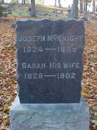 MCKNIGHT, SARAH - Meigs County, Ohio   SARAH MCKNIGHT - Ohio Gravestone Photos