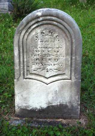 MCKNIGHT, JANE - Meigs County, Ohio   JANE MCKNIGHT - Ohio Gravestone Photos