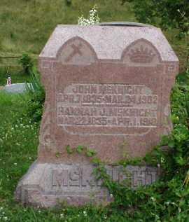 MCKNIGHT, JOHN - Meigs County, Ohio | JOHN MCKNIGHT - Ohio Gravestone Photos