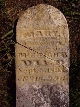 MCKNIGHT, MARY - Meigs County, Ohio | MARY MCKNIGHT - Ohio Gravestone Photos