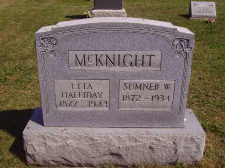 MCKNIGHT, ETTA - Meigs County, Ohio | ETTA MCKNIGHT - Ohio Gravestone Photos